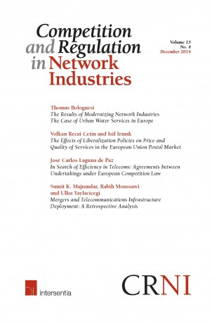 Competition and Regulation in Network Industries