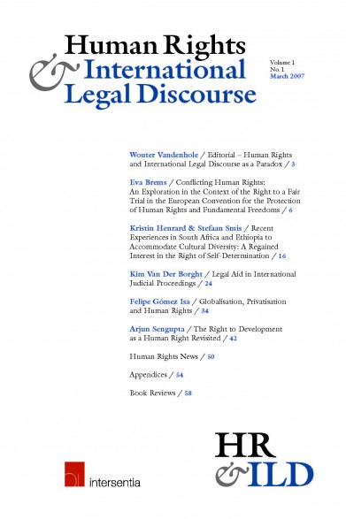 Human Rights & International Legal Discourse