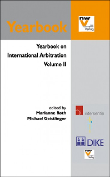 Yearbook on International Arbitration