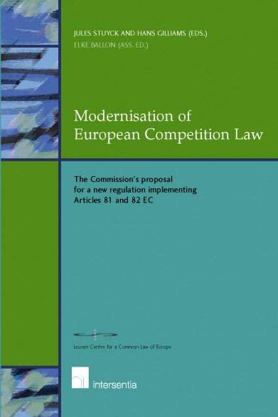 Modernisation of European Competition Law