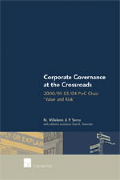 Corporate Governance at the Crossroads