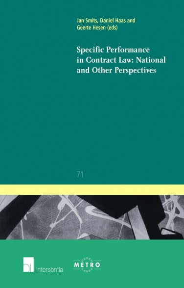 Specific Performance in Contract Law: National and Other Perspectives