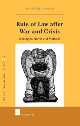 Rule of Law after War and Crisis