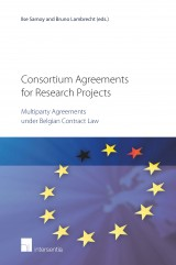 Consortium Agreements for Research Projects