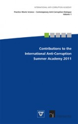 Contributions to the International Anti-Corruption Summer Academy 2011