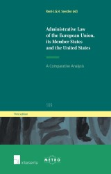 Administrative Law of the European Union, Its Member States and the United States (3rd ed.)