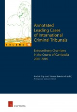 Annotated Leading Cases of International Criminal Tribunals - volume 43