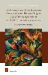 Implementation of the European Convention on Human Rights and of the judgments of the ECtHR in national case law