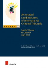 Annotated Leading Cases of International Criminal Tribunals - volume 49