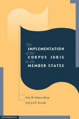Implementation of the Corpus Juris - volume 1