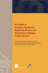 Principles of European Family Law Regarding Divorce and Maintenance Between Former Spouses