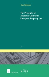 The Principle of Numerus Clausus in European Property Law