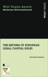 The Reform of European Legal Capital Rules