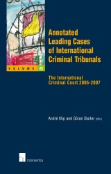 Annotated Leading Cases of International Criminal Tribunals - volume 23