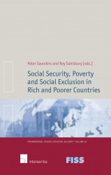 Social Security, Poverty and Social Exclusion in Rich and Poorer Countries