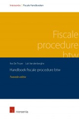 Handboek fiscale procedure btw, 2de ed.