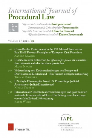 International Journal of Procedural Law
