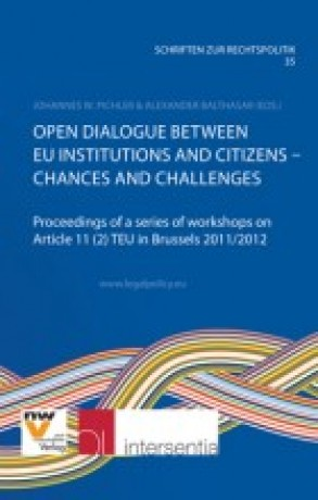 Open Dialogue between EU Institutions and Citizens - Changes and Challenges