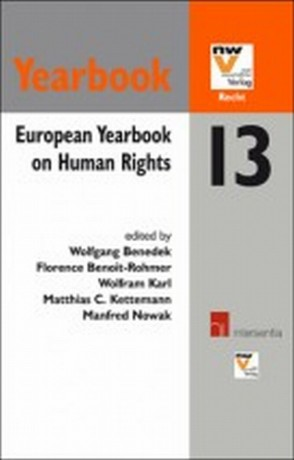 European Yearbook on Human Rights 13