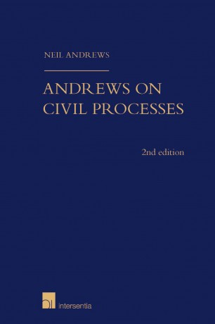 Andrews on Civil Processes (2nd edition)