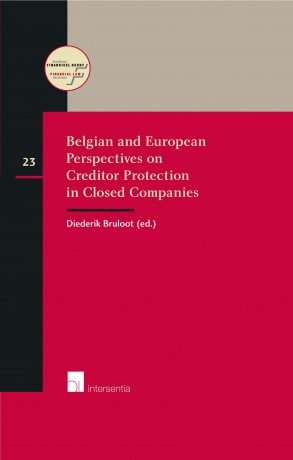 Belgian and European perspectives on creditor protection in closed companies