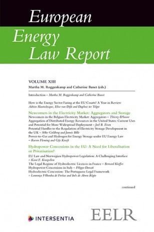European Energy Law Report XIII