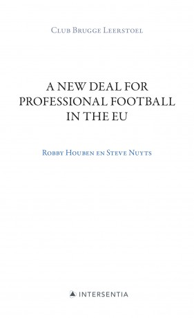 A New Deal for Professional Football in the EU
