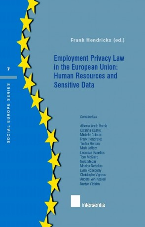 Employment Privacy Law in the EU: Human Resources and Sensitive Data