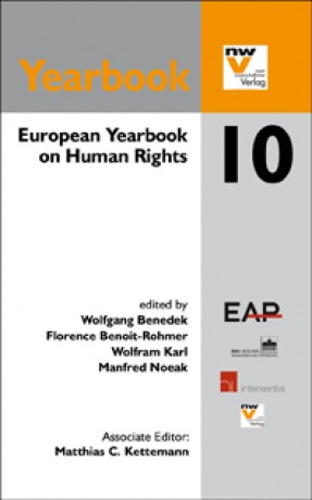 European Yearbook on Human Rights 10