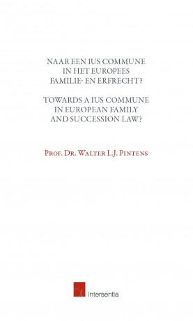 Towards a Ius Commune in European Family and Succession Law?