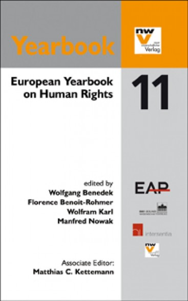 European Yearbook on Human Rights 2011