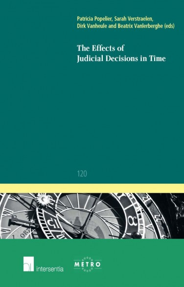 The Effects of Judicial Decisions in Time