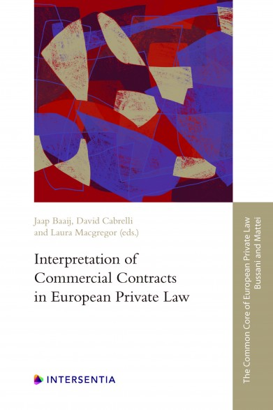 Interpretation of Commercial Contracts in European Private Law