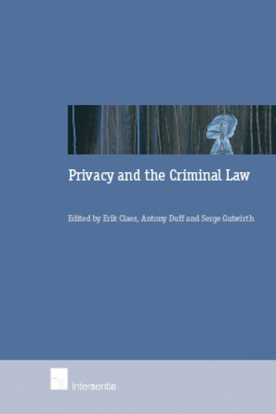 Privacy and the Criminal Law