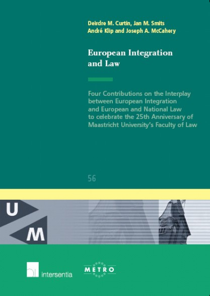 European Integration and Law