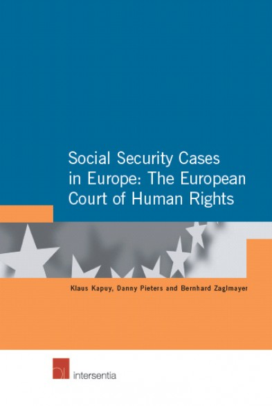 Social Security Cases in Europe: The European Court of Human Rights