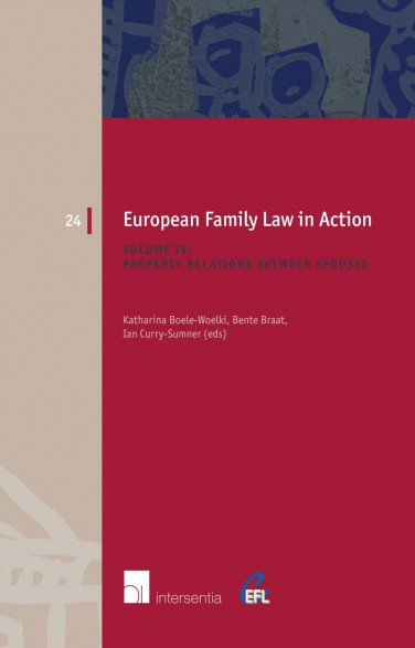 European Family Law in Action. Volume IV -  Property Relations