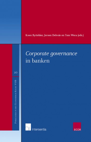 Corporate governance in banken