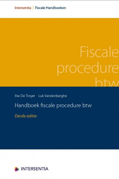 Handboek fiscale procedure btw (derde editie)