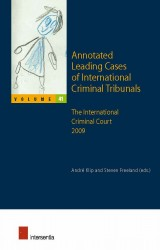 Annotated Leading Cases of International Criminal Tribunals - volume 41