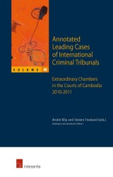 Annotated Leading Cases of International Criminal Tribunals - volume 44