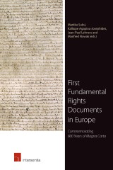 First Fundamental Rights Documents in Europe
