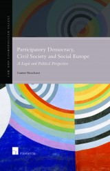 Participatory Democracy, Civil Society and Social Europe