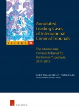 Annotated Leading Cases of International Criminal Tribunals - volume 55