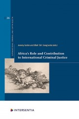 Africa's Role and Contribution to International Criminal Justice