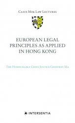European Legal Principles as Applied in Hong Kong