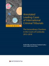 Annotated Leading Cases of International Criminal Tribunals - volume 65