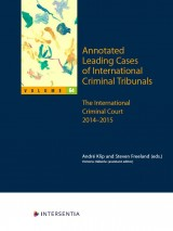 Annotated Leading Cases of International Criminal Tribunals - volume 64