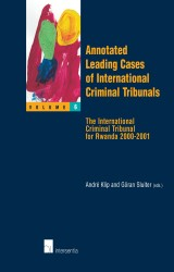 Annotated Leading Cases of International Criminal Tribunals - volume 06