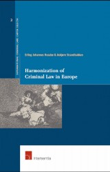 Harmonization of Criminal Law in Europe